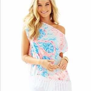Lilly Pulitzer XS/S Jasmin Caftan Tunic Coverup